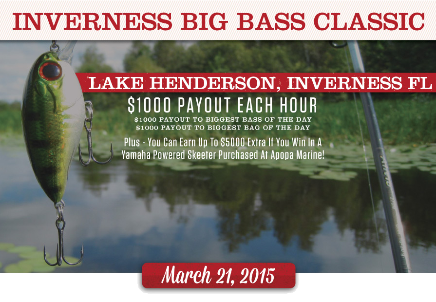 Big Bass Classic Lake Henderson Inverness Florida